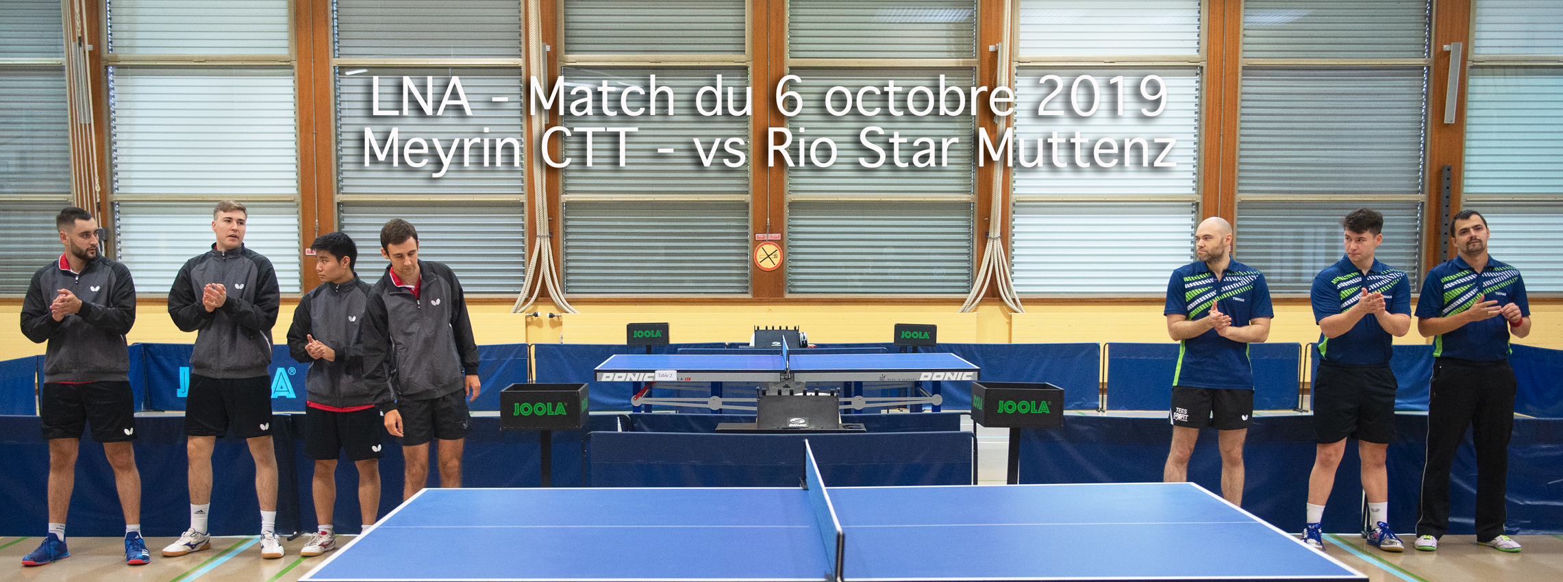 LNA - 2019-2020 - 6 octobre 2019 - Match Meyrin CTT - Rio Star Muttenz